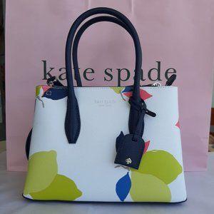 Kate Spade NY Eva Lemon Zest Small Top Zip Satchel